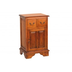 Mahogany Village Cupboard with CD Drawers