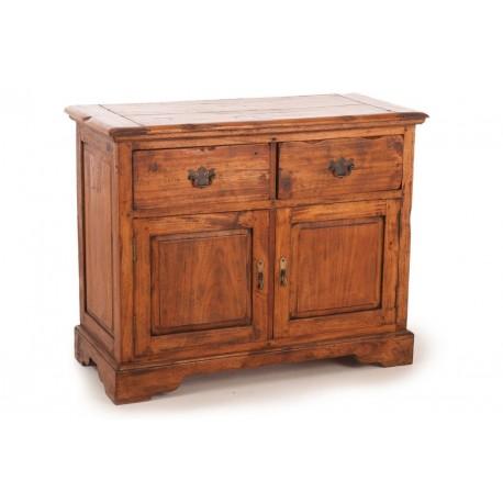 Rustic Mango Wood 2 Drawer Buffet