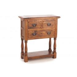Rustic Mango Wood Large Telephone Table