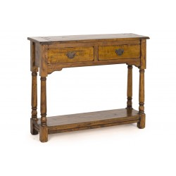 Rustic Mango Wood Console Table