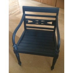 Mahogany Village Raffles Chair