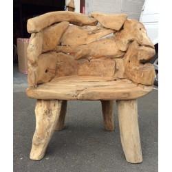 Driftwood King Chair