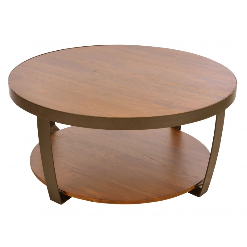 Brace Small Round Coffee Table