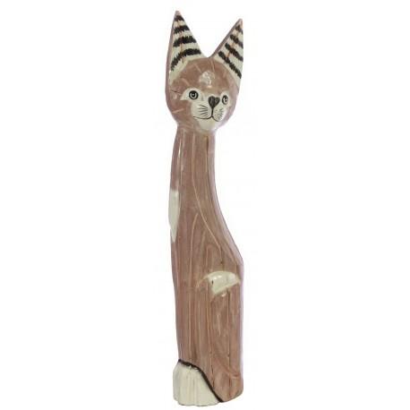 Lilac 60cm Cat Ornament