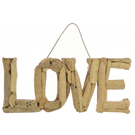 Driftwood Love Plaque