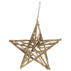 Driftwood Star Plaque