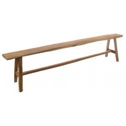 Antique wooden bench in various sizes with all the marks of a well used piece of furniture