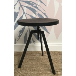 Industrial Metal Adjustable Bistro Table