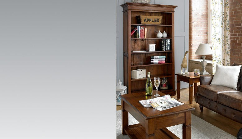 Mahogany Village Furniture, solid mahogany lounge furniture with light distressing from Ancient Mariner Furniture