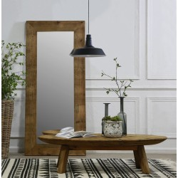 Fair Isle Oval Coffee Table - out of stock