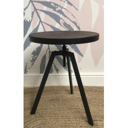 Industrial Metal Adjustable Bistro Table