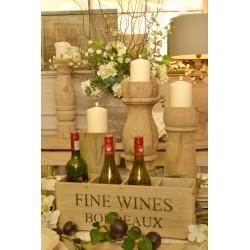 Vintage Bordeaux 4 Bottle Fine Wines Box - out of stock