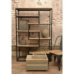 Old Empire Large Open Bookcase - out of stock