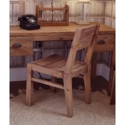Fair Isle Wooden Dining Chair